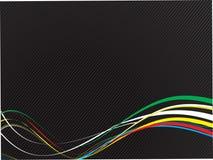 абстрактные линии вектор Стоковые Изображения RF