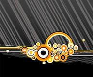 абстрактные линии кругов иллюстрация штока