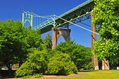 абстрактные линии моста стоковая фотография