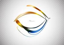абстрактные линии цвета предпосылки Стоковые Фотографии RF