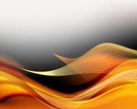 абстрактные линии Стоковое Изображение