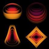 абстрактные линии Стоковое Фото