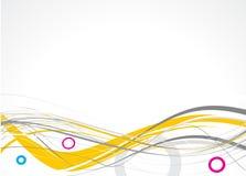 абстрактные линии Стоковое Изображение RF