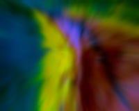 абстрактные листья нерезкости Стоковое Изображение