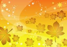 абстрактные листья предпосылки Стоковые Фото