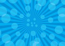 абстрактные лучи предпосылки Стоковые Фотографии RF