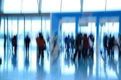 абстрактные люди города дела предпосылки Стоковая Фотография RF