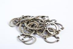 Абстрактные металлические кольца Стоковые Фотографии RF