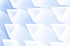 Абстрактные накаляя треугольники иллюстрация вектора