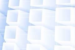 Абстрактные накаляя квадраты иллюстрация вектора