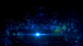 Абстрактные небольшие затруднения молнии на черной предпосылке Разметьте влияние яркого блеска галактики с sparkles на экране илл Стоковое Фото