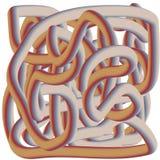 Абстрактные не-объективные граффити иллюстрация вектора