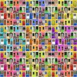 абстрактные ногти дома Стоковое фото RF