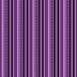 Абстрактные обои вектора с вертикальными нашивками теней и кругов сирени Стоковые Фотографии RF