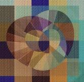 Абстрактные образцы цвета на холсте бесплатная иллюстрация