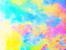 абстрактные облака Стоковая Фотография RF