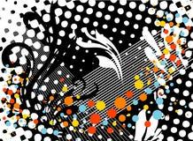 абстрактные орнаменты предпосылки Стоковые Изображения RF