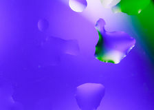 Абстрактные падения воды стоковое фото