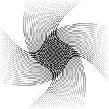 Абстрактные пересекая линии, картина отверстия щетки Стоковые Изображения RF