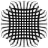 Абстрактные пересекая линии, картина отверстия щетки Стоковые Изображения