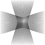 Абстрактные пересекая линии, картина отверстия щетки Стоковое Изображение