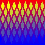 абстрактные пламена делают по образцу плитку Стоковые Изображения RF