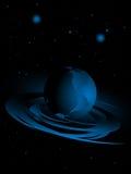 абстрактные планеты предпосылки иллюстрация вектора
