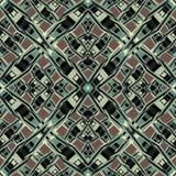 Абстрактные полигоны на коричневой предпосылке vector иллюстрация Стоковые Изображения RF