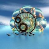 абстрактные предметы 3d Стоковое Фото