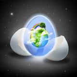 абстрактные предпосылки относящие к окружающей среде Стоковое Изображение