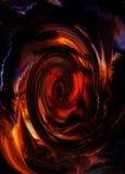 Абстрактные предпосылка и влияние круга цвета, предпосылка цвета Стоковая Фотография