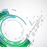 Абстрактные предпосылка технологии цвета/дело компьютерной технологии Стоковая Фотография