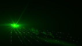 Абстрактные предпосылки космоса освещают на черной предпосылке (супер высокое разрешение) иллюстрация вектора