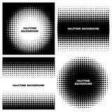 Абстрактные предпосылки полутонового изображения с текстом бесплатная иллюстрация