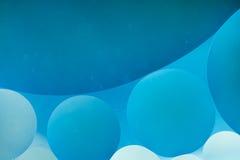 абстрактные предпосылки Пустословия на воде, абстракция масла Макрос Стоковое Изображение