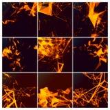 Абстрактные предпосылки сетевого подключения Стоковая Фотография RF