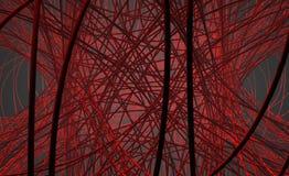 абстрактные проводы иллюстрация вектора