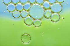 абстрактные пузыри предпосылки Стоковое Изображение