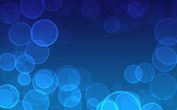 Абстрактные пузыри предпосылки Стоковая Фотография RF