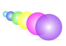 абстрактные пузыри иллюстрация вектора