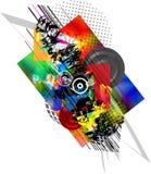 абстрактные пятна состава Стоковое Фото