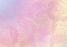 абстрактные розы предпосылки Стоковое Фото