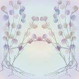 абстрактные розы предпосылки Стоковые Фотографии RF