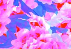 Абстрактные ручной работы цветки стоковое изображение