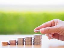 Абстрактные сбережения денег Стоковые Фотографии RF