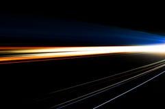 Абстрактные света автомобиля Стоковое Изображение RF