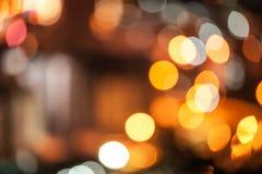 абстрактные света города предпосылки Стоковые Фото