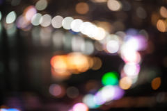 абстрактные света города предпосылки Стоковая Фотография RF