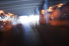 абстрактные света города Стоковые Фото