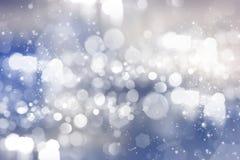 абстрактные света праздника предпосылки Стоковое фото RF